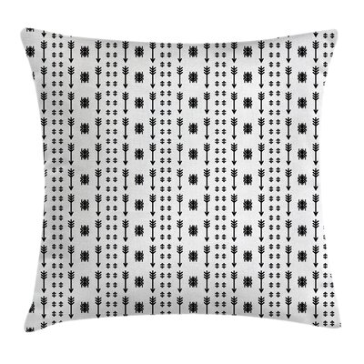 Modern Tribal Pillow Cover Size: 24 x 24