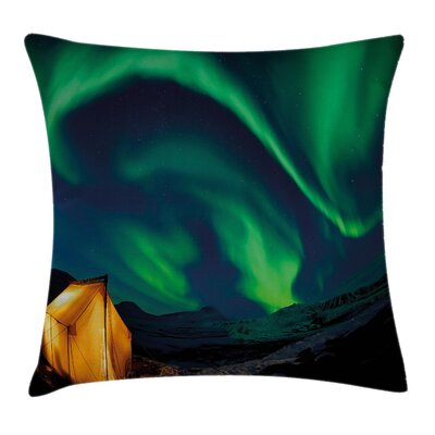 Nordic Camping Cushion Pillow Cover Size: 16 x 16