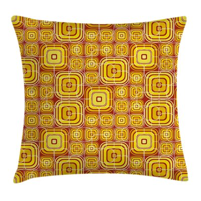 Yellow Pillow Cover Size: 18 x 18