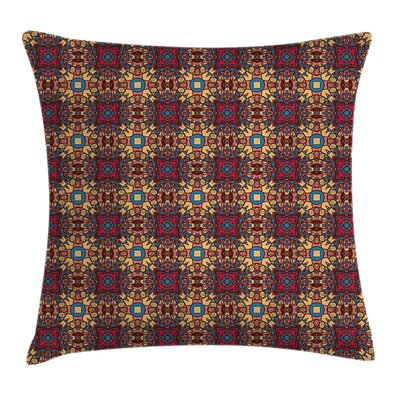 Arabian Indian Eastern Details Cushion Pillow Cover Size: 20 x 20