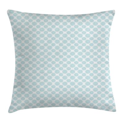 Light Elliptic Starry Bold Square Pillow Cover Size: 24 x 24