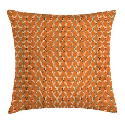 Figures Elegance Cushion Pillow Cover Size: 18 x 18