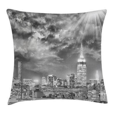 City Light Pillow Cover Size: 16 x 16