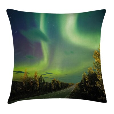 Nordic Rays of Sky Sun Cushion Pillow Cover Size: 20 x 20