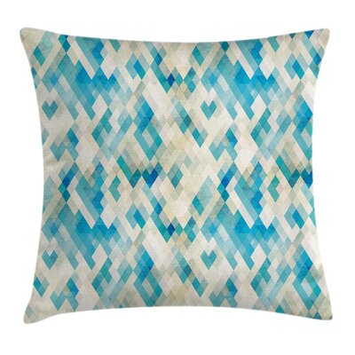 Diamond Inspiration Pillow Cover Size: 18 x 18