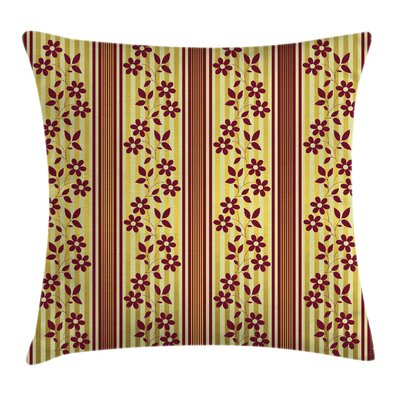 Waterproof Floral Pillow Cover Size: 24 x 24