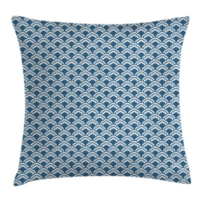 Chinese Traditional Tile Square Pillow Cover Size: 24 x 24