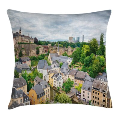 Old Town Luxembourg Square Pillow Cover Size: 24 x 24