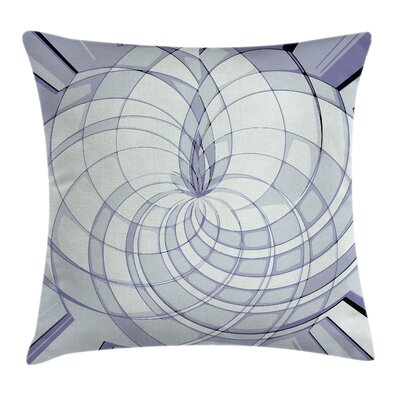 Modern Circular Pillow Cover Size: 24 x 24