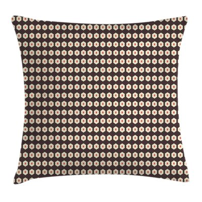 Modern Geometric Graphic Print Pillow Cover Size: 24 x 24