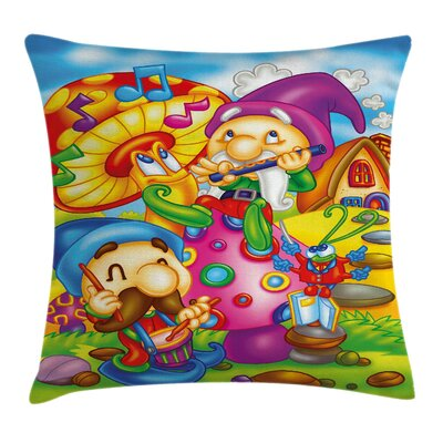 Fairy World Pillow Cover Size: 24 x 24