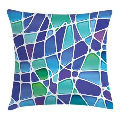 Modern Stain Resistant Square Pillow Cover Size: 16 x 16