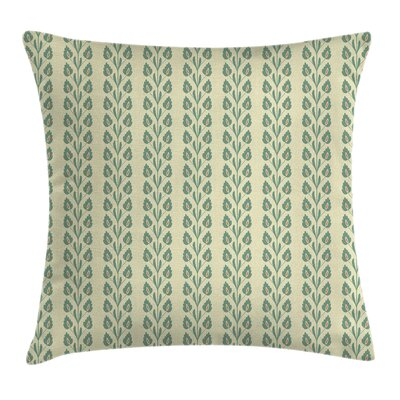 Modern Removable Floral Square Pillow Cover Size: 24 x 24
