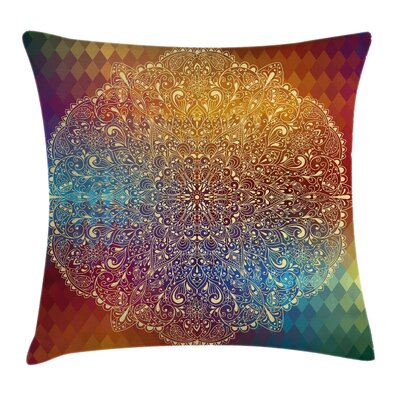 Waterproof Graphic Print Pillow Cover Size: 16 x 16