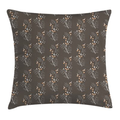 Spring Buds Branches Cushion Pillow Cover Size: 24 x 24