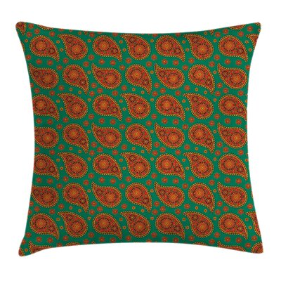 Modern 18 Square Pillow Cover with Zipper Size: 18 x 18