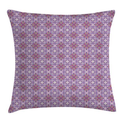 Abstract Ethnic Floral Cushion Pillow Cover Size: 18 x 18