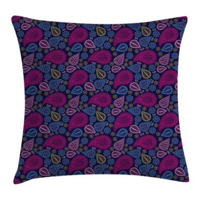 Modern Paisley Pillow Cover Size: 16 x 16
