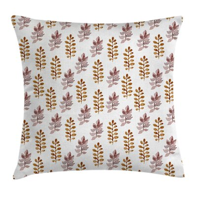 Leaves Pillow Cover Size: 18 x 18
