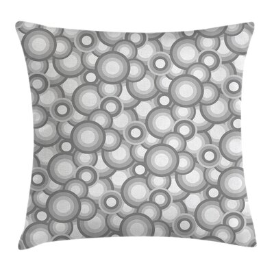 Circles Pillow Cover Size: 16 x 16