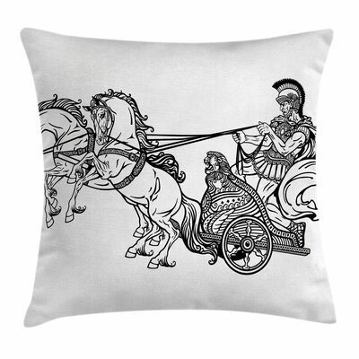 Warrior Pillow Cover Size: 16 x 16