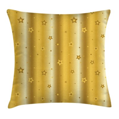 Star Figures Luxury Icons Square Pillow Cover Size: 16 x 16