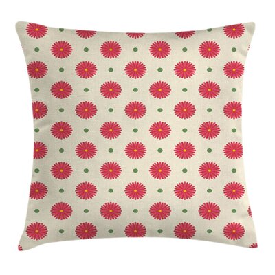 Geometric Mix Square Pillow Cover Size: 18 x 18