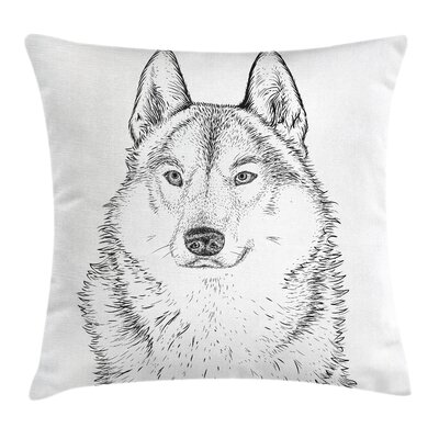 Dog Pillow Cover Size: 20 x 20