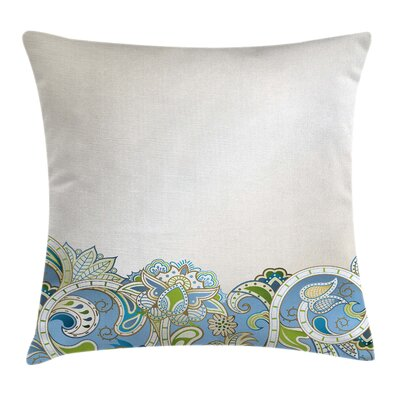 Waterproof Floral 16 Square Pillow Cover Size: 20 x 20
