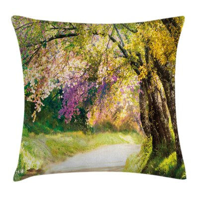 Spring Park Walkway Cushion Pillow Cover Size: 16 x 16