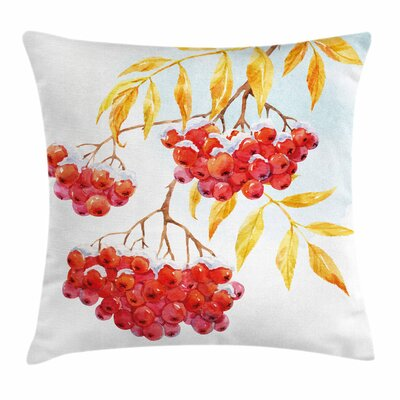Ashberry Pillow Cover Size: 18 x 18
