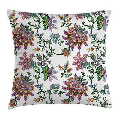 Modern Flower Square Pillow Cover Size: 24 x 24