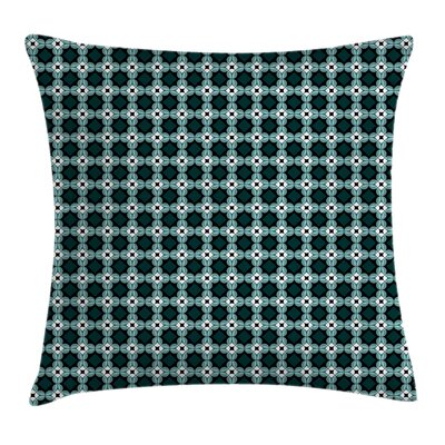 Moroccan Oriental Pattern Cushion Pillow Cover Size: 16 x 16