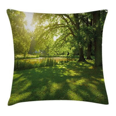 Landscape Pillow Cover with Zipper Size: 18 x 18