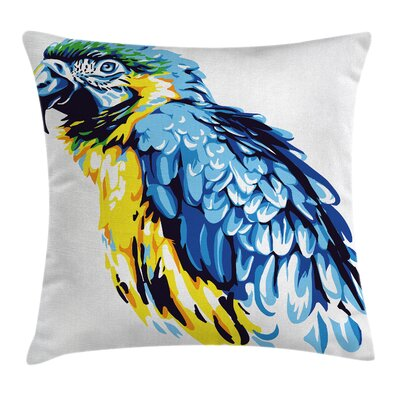 Animal 18 Square Pillow Cover Size: 18 x 18