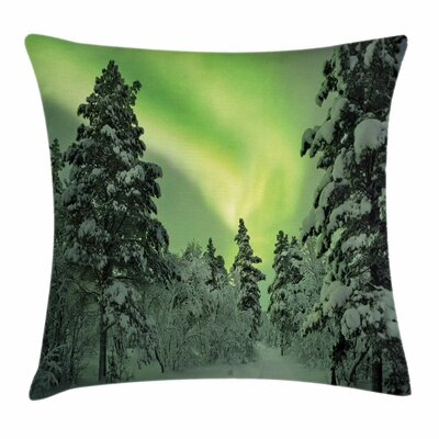 Dusk Sky Twilight Travel Cushion Pillow Cover Size: 24 x 24