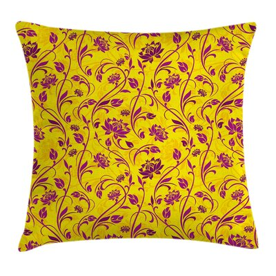 Floral 18 Square Pillow Cover Size: 24 x 24