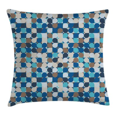 Removable Square Pillow Cover with Zipper Size: 24 x 24