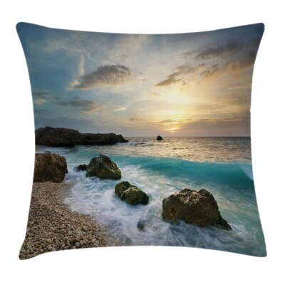 Ocean Pillow Cover Size: 16 x 16