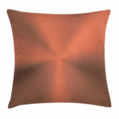 Brushed Texture Square Pillow Cover Size: 16 x 16