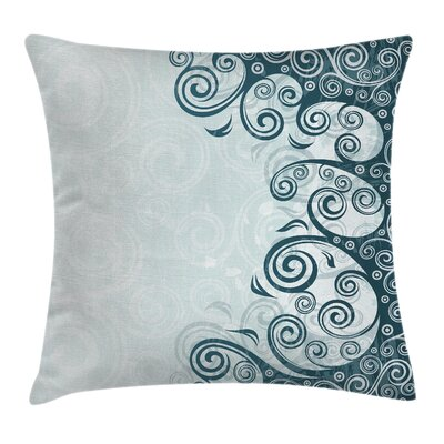Modern Curve Mandala Pillow Cover Size: 24 x 24