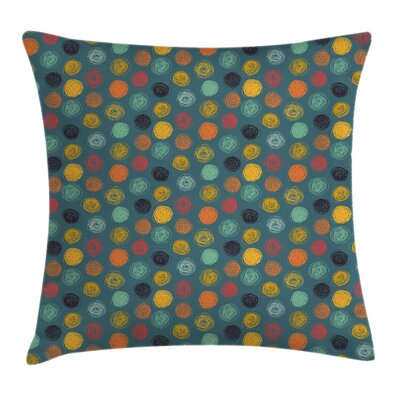 Dandom Circle Pillow Cover Size: 16 x 16