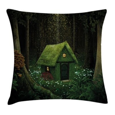 House in the Woods Pillow Cover Size: 20 x 20