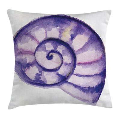 Modern Decor Sea Ocean Marine Cushion Pillow Cover Size: 18 x 18