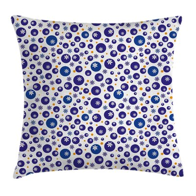 Waterproof Floral Graphic Print Pillow Cover Size: 20 x 20
