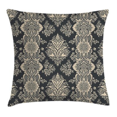 Damask Pillow Cover Size: 20 x 20