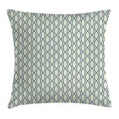 Fishing Net Lattice Cushion Pillow Cover Size: 24 x 24
