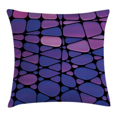 Modern Removable Waterproof Square Pillow Cover with Zipper Size: 24 x 24