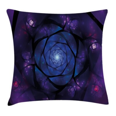 Psychedelic Pillow Cover Size: 24 x 24