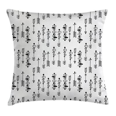 Arrow Pillow Cover Size: 16 x 16
